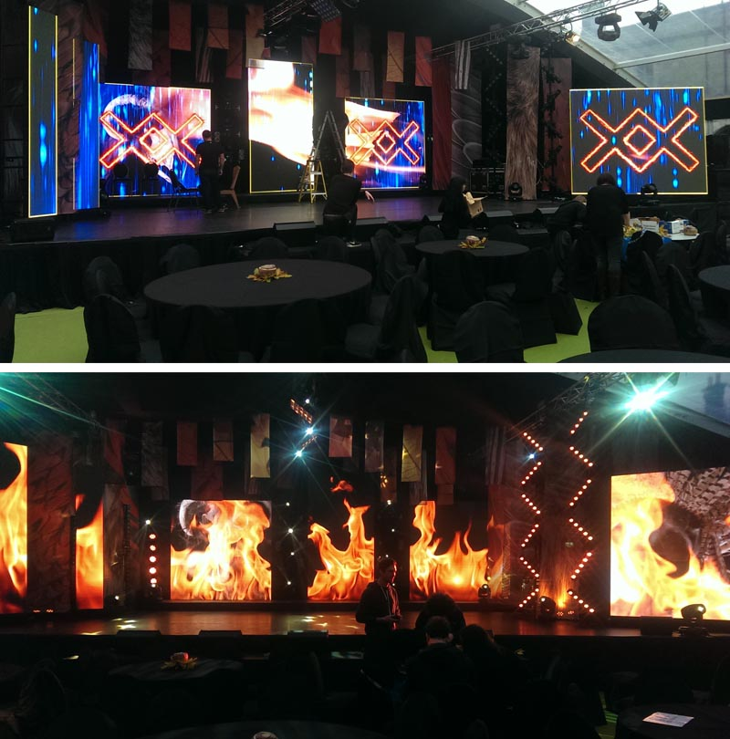 LED Screen Hire - TG4