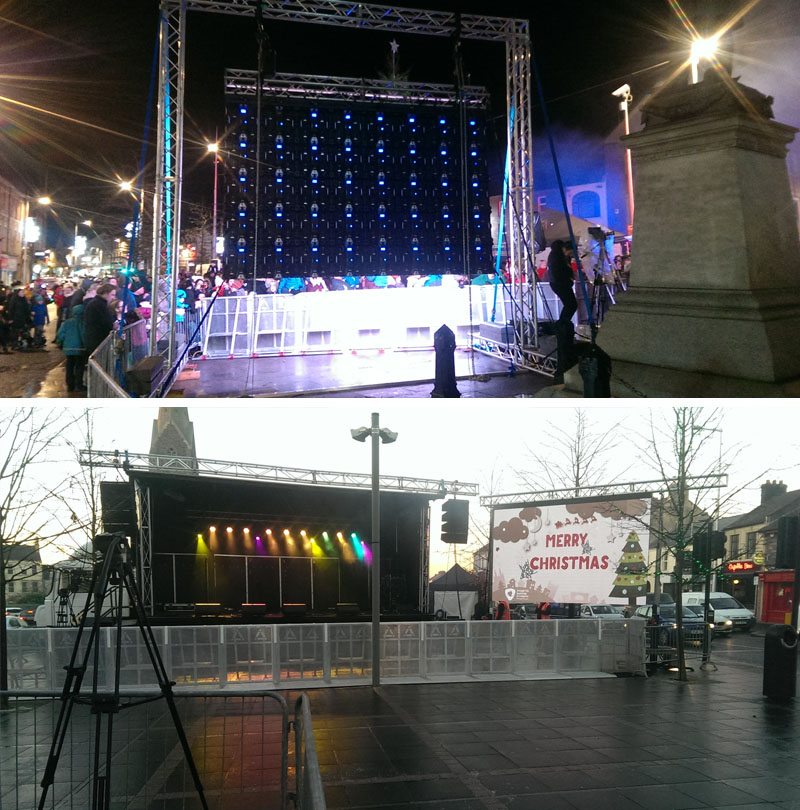 Outdoor LED Screen Hire Ireland | Complete AV Solutions