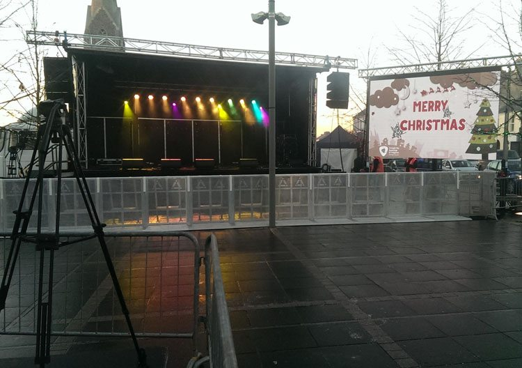 led-screen-rental-christmas lights concert